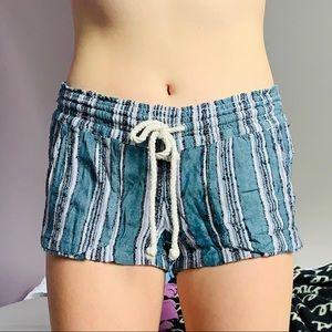Roxy Striped Beach Shorts